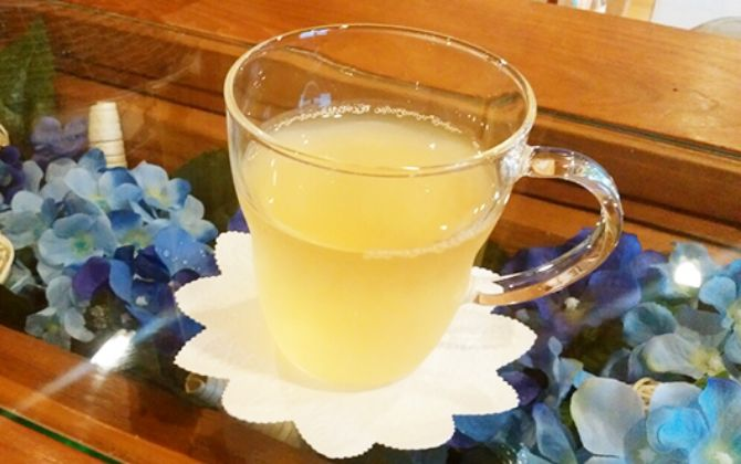 伊豆天城山中の天然酵母とお酢でつくる酵母ジュース