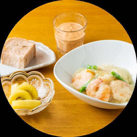 2.朝食 (補食(回復食) またはファスティング(断食))